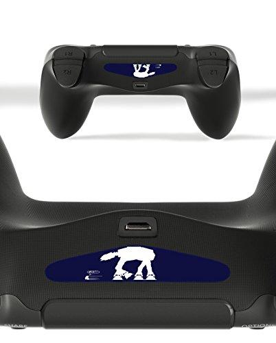 GnG 2 x barre de lumière LED R2D2 de starwars autocollant autocollant F PlayStation 4 PS4 contrôleur DualShock 4
