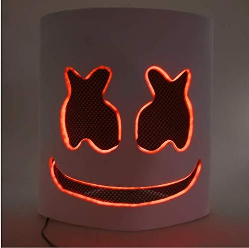 X Factor Halloween Kostüm - Halloween Ball Maske Leuchtet Marshmallow