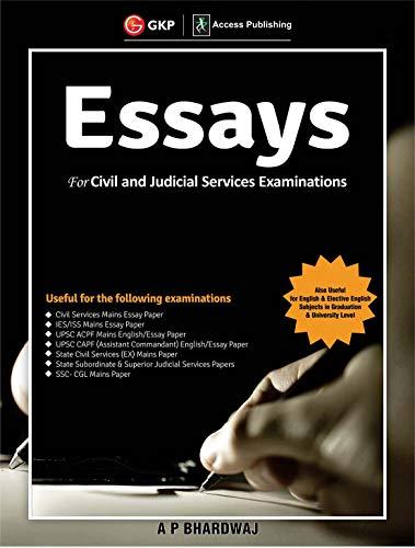 Essays for Civil  and Judicial Services Examinations 2019
