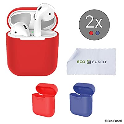 Protective Silicone cases for Apple Airpods Case de Eco-Fused