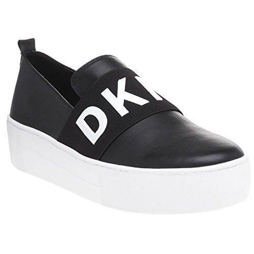 DKNY Alicia Slip on Femme Baskets Mode Noir