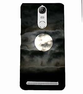 PRINTSOPPII NIGHT Back Case Cover for Lenovo K5 NOTE::Lenovo Vibe K5 Note Pro
