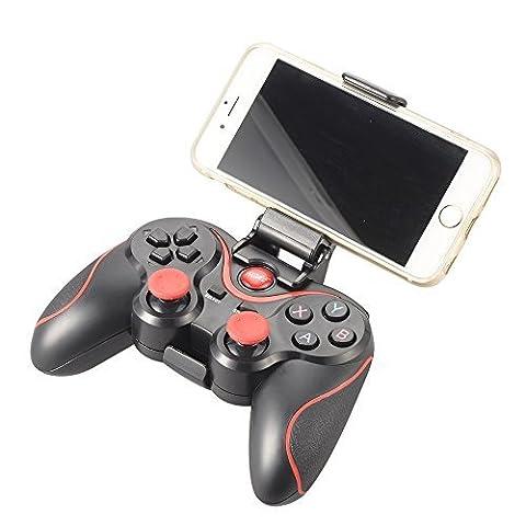 XCSOURCE® T3 drahtlose Bluetooth Gamepad Spiel Controller mit einstellbarer Klammer Halterung Halter für Android Smartphone / Tablet / Smart TV / TV Box AC430