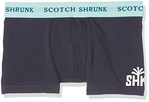 Scotch & Soda Shrunk Jungen Unterwäsche-Set Jersey Boxer Shorts Sold in Duo Pack, 2, Mehrfarbig (Combo H 587), 140 (Herstellergröße: 10)