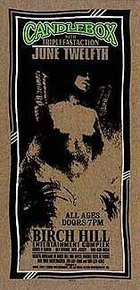 Candlebox 12/6/96, Limited Edition, Musik Poster, eingereicht von Mark Arminski Original signiert, nummeriert, Motiv: Candlebox
