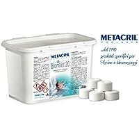 Metacril bromo multiazione (Pastillas DE 20gr–Brom Net 20multiazione 1kg. Ideal para SPA Hidromasaje (Teuco, Jacuzzi, hafro, Glass, dimhora, Intex, Bestway, etc.)–Plegables immediata