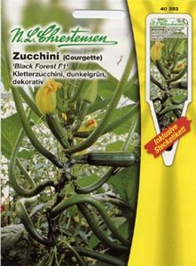 Zucchini Black Forest F1 (Portion inkl. Stecketikett)