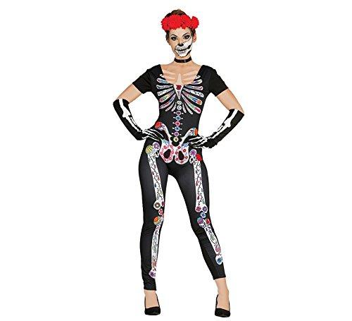 Disfraz de Esqueleto Catrina para mujer