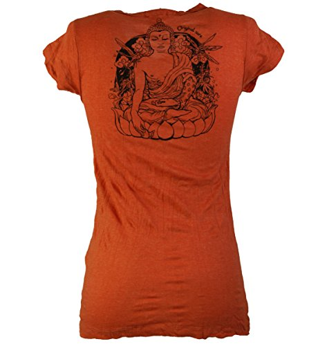 Sure T-Shirt Meditation Buddha / Sure - Shirts Orange