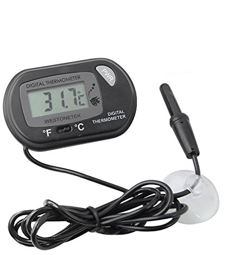 LCD Digitales Wasser Thermometer for Terrarium,Aquarium und Vivarium