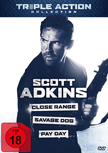 Scott Adkins Triple Action Collection [3 DVDs]