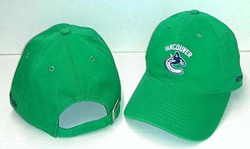 Reebok NHL Herren Cap Slouch verstellbar, Herren, EA99Z TSC, grün, Einheitsgröße -