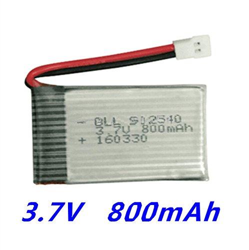 Fytoo 1pcs 3 7v 800mah Litio Batería para Syma X5 X 5C X5C-1 X 5S X5SW X5SC  V931 H5C CX-30 CX-30W Quadcopter