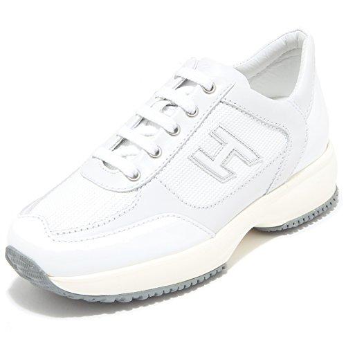 84290 sneaker HOGAN JUNIOR NEW INTERACTIVE LACE UP H FLOCK scarpa bimba shoes ki [31]