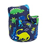 Ready Steady Bed Kids Toddler Armchair   Comfy Children Furniture   Soft Child Safe Seat Playroom Sofa   Ergonomically Designed Bean Bag Chair