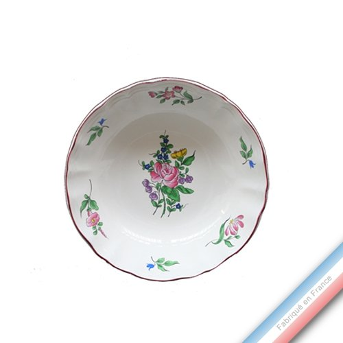 Lunéville 1730 Collection REVERBERE Table - Assiette Calotte - Diam 19 cm - Lot de 4