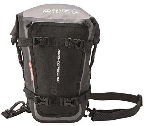 drybag 80 Wasserdichte Hecktasche Drybag 80. 8 Liter, grau/schwarz, wasserdicht