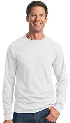 kectelly–Heavyweight Blend 50/50lungo Sleeve Maglietta Bianco