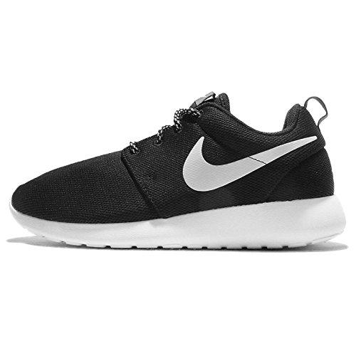 Nike W Nike Roshe One, Girls' Running, Black (Black/White-Dark Grey), 3 UK