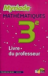 Myriade 3e  Livre du professeur