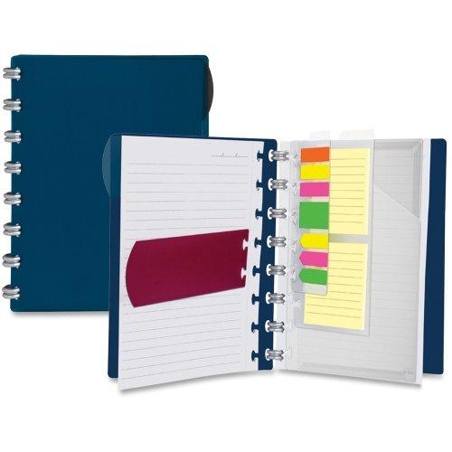 Ampad Versa Crossover Notebook-60Blatt-24LB-liniert-Brief 21,6x 27,9cm-jeweils 1Navy, (Versa-notebooks)