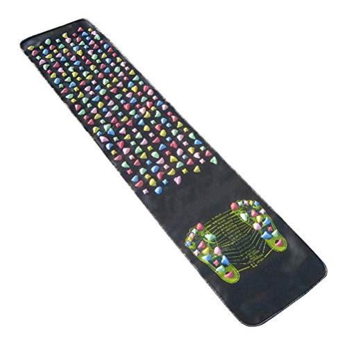 LEXPON Fußreflexzonenmassage Matte Fußmassagematte für zu Hause Fußpflege Badezimmer 175x35cm