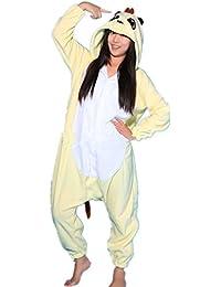 Samgu-Mongoose animal Pyjama Cospaly Party Fleece Costume Deguisement Adulte Unisexe