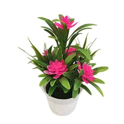 Künstlichen Blumen, Künstliche Bonsai, Simulation Kunstblumen, Pflanze Bonsai Im Topf Für Hotel, Raum Dekoration Ornamente