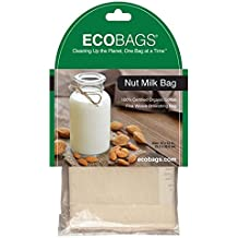 ECOBAGS® Nut Milk Bag Organic Cotton Straining Bag ...