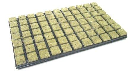 Grodan de roche anzuchtmatte 77er tray 3,6 x 3,6 cm