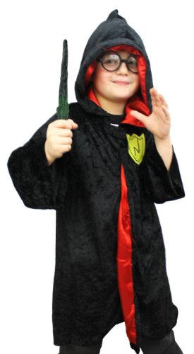 Harry Potter Köstum Kinder Zauberer Chidren Wizard Boy Fancy Dress Costume (7-9 years old)