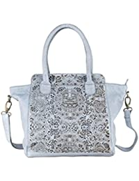Greenland Femi & Nine Ladies Bag Sac à main cuir 44 cm