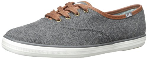 Keds Ch Wool, Sneaker donna grigio Size: EU 40 (US 10)