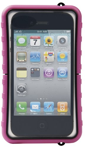 Krusell SEaLABox 95328 wasserdicht Universal Mobile Phone Case schwarz Pink