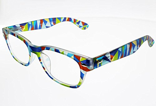 I NEED YOU Lesebrille Woody Crazy SPH:+1,50 Farbe:Camouflage-Bunt