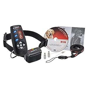 Collier de dressage chien DOGtrace D-Control 400 - Dispositif d'entraînement à distance polyvalent à portée de 250 m