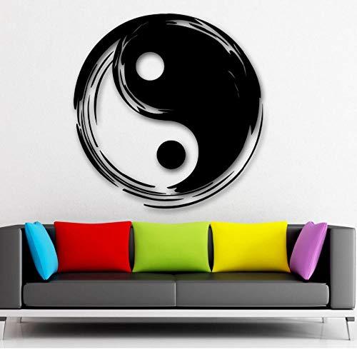 Qvzxn Sticker Mural Style Chinois Vinyle Autocollant Tai Chi...