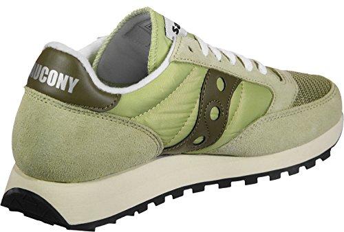 Saucony Damen Jazz Original Vintage Sneaker, Beige, 37 EU grün (Sage/Olive 32)