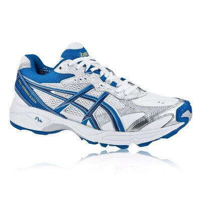 Asics  Gel Strike Rate 2 M, Chaussures de cricket pour homme, Bianco (White/Blue), 42.5 (9 UK)