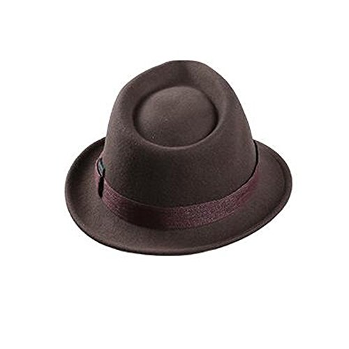 Frau Filz Jazz Hut Damen Jahrgang Wolle Melton Niedlich Bowknot Dekor Jazz Hüte 80Store (Clown Kostüme Frauen Niedliche Für)