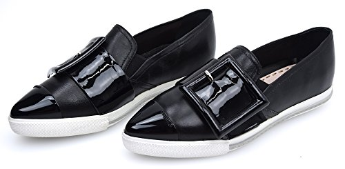 MIU-MIU-Woman-Sneaker-Slip-On-Shoes-Black-Leather-Code-5S172A-36-Nero-Black