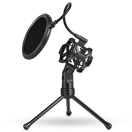 Tecomax - Filtro de grabación para micrófono