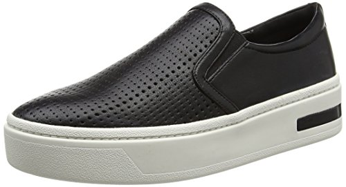 Aldo Women Coole Low-Top Sneakers, Black (Black Synthetic), 7 UK 40 EU