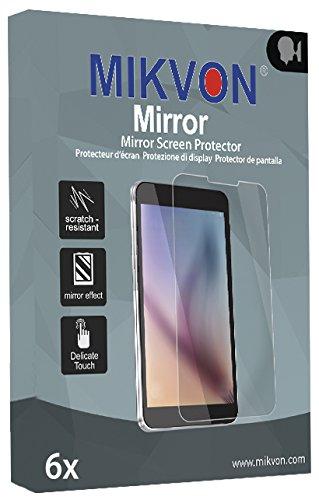 6x Mikvon Mirror Displayschutzfolie für HTC Rome Spiegel-Schutz-Folie - Original Verpackung mit Zubehör