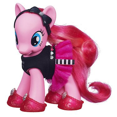 MY LITTLE PONY Mon Petit Poney GRANDE FIGURINE COLLECTION Pink & Fabulous Pinkie Pie Pinkie Pie's boutique
