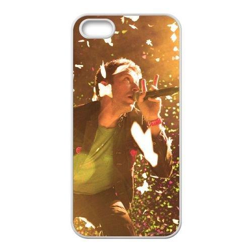 Coldplay coque iPhone 4 4S Housse Blanc téléphone portable couverture de cas coque EBDXJKNBO17214