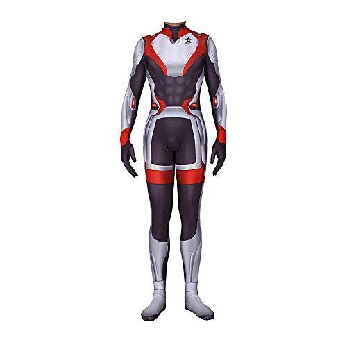 BQT Jungen Bekleidung Sets Endgame Avengers Anzug Quantum 3D Avengers League Super Hero Uniform Super Mann Sweatshirts,J1,5XL