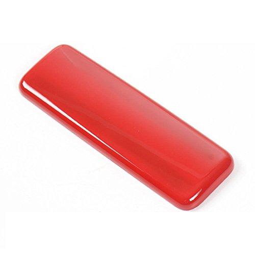 Odster Chrom ABS Armaturenbrett Zigarettenasche Aschenbecher Kastengriff-Abdeckungs-Ordnung Interior Car-Styling f¨¹r Suzuki Jimny 2007-2015 Autozubeh?r [Rot] -