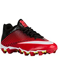 official photos b7b30 797d5 Mens Nike Vapor Shark 2 Football Cleat University Red Black Total Crimson…