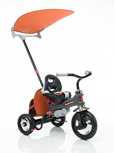 Vidaxl - 400090 - Tricycle pour les Petits Enfants - Azzurro - Rouge
